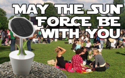 may the sun force be with you